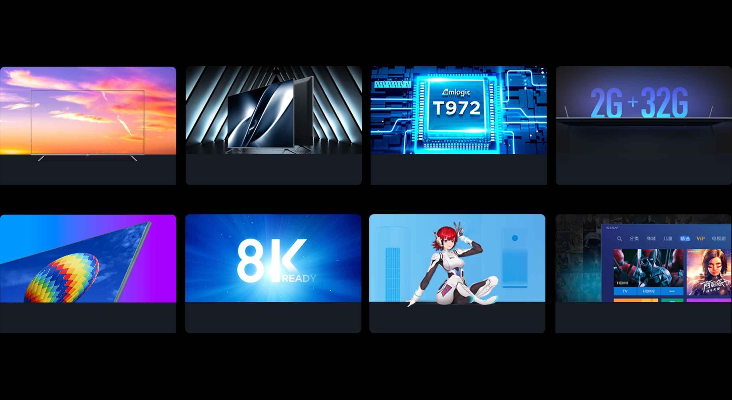 Функции Сяоми Mi TV All Screen Pro 55
