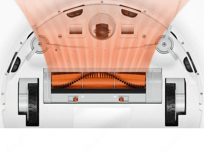 Зона всасывания робота пылесоса Xiaomi Mijia G1