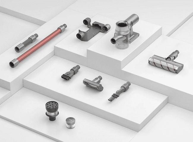 Комплектация беспроводного ручного пылесоса Xiaomi Dreame V11