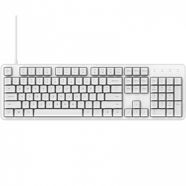 Xiaomi Mi Yuemi Mechanical Keyboard MK06C (White)