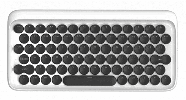 Клавиатура Xiaomi Lofree dot Bluetooth Mechanical Keyboard (White/Белый)