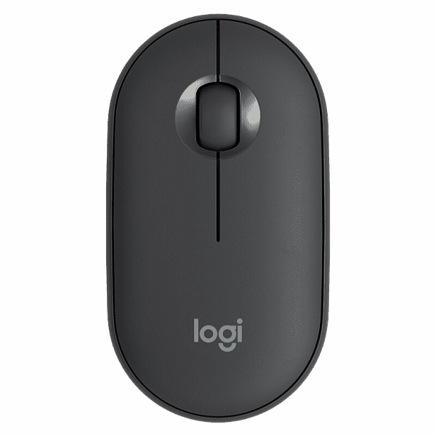 Xiaomi Logitech Cobblestone Wireless Bluetooth Dual Mode Mouse (Black)